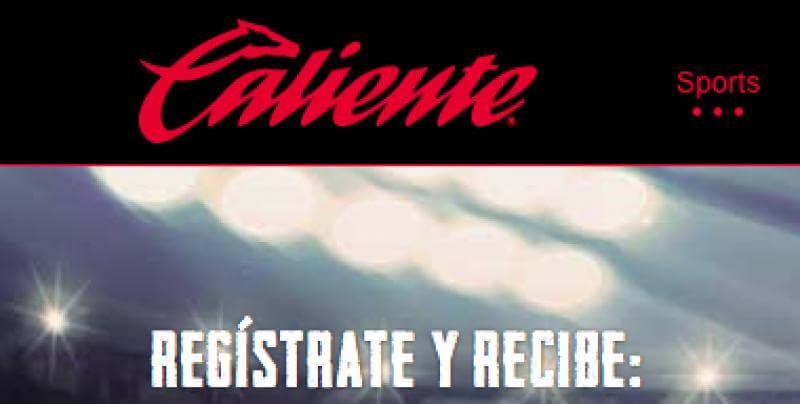 Apuestas deportivas en Caliente.mx