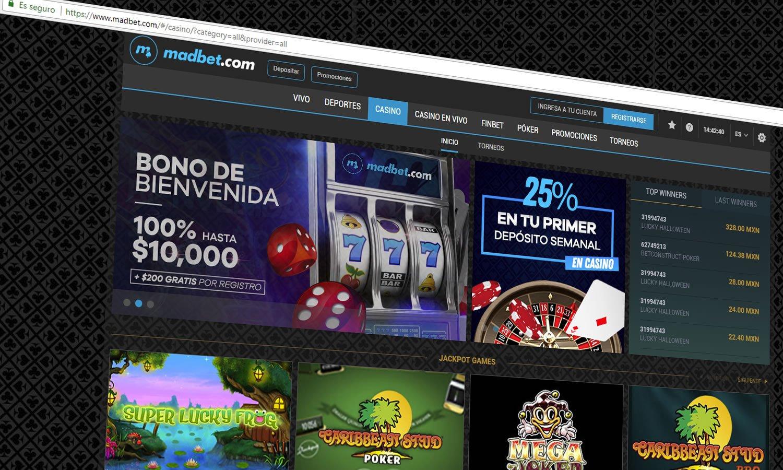 Jugar al Casino online en Madbet