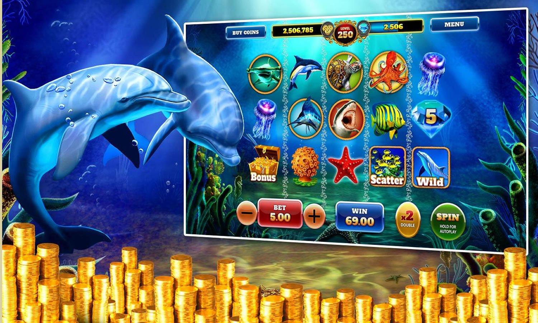 Trucos tragamonedas Dolphin Treasure