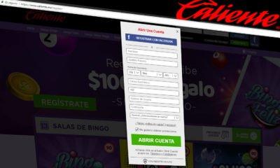 ¿Cómo registrarse en Caliente.mx?