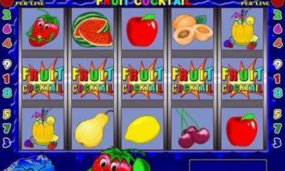 ¿Cómo hacer trampa en las máquinas Fruit Cocktail?