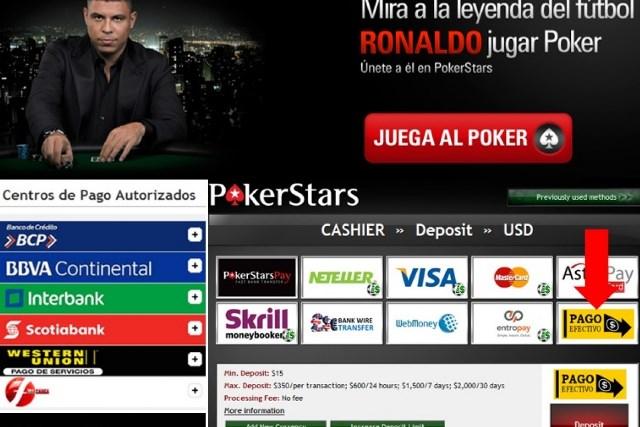 ¿Cómo depositar dinero en Pokerstars?