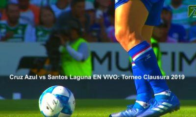 Cruz Azul vs Santos Laguna 2019
