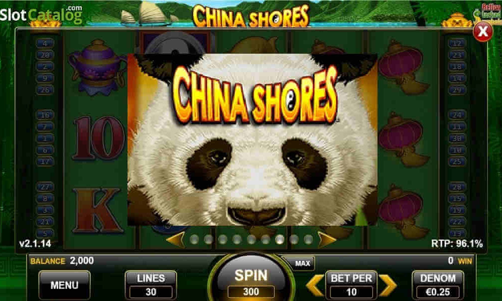 ¿Trucos para la tragamonedas China Shores?