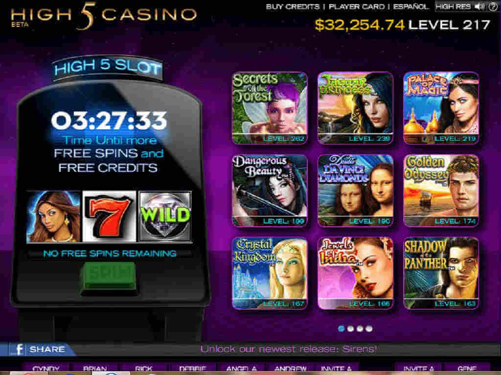 ¿Trucos para High 5 Casino?