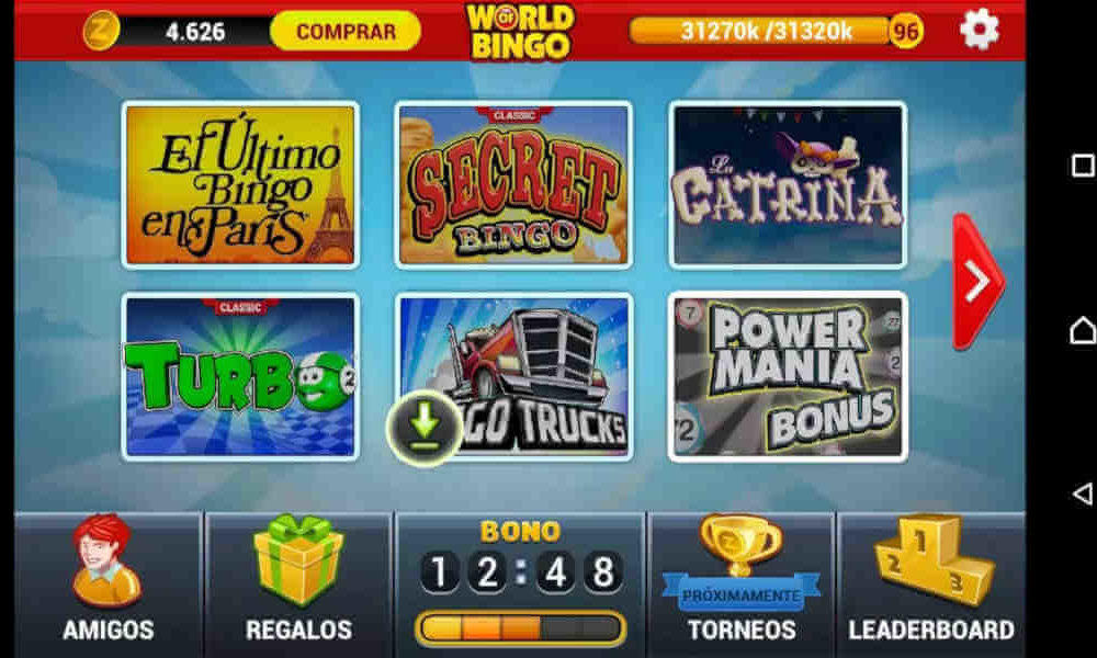 ¿Trucos para World of Bingo?